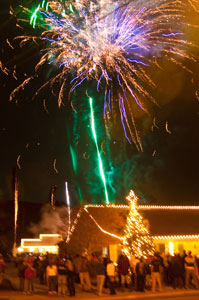 townhall fire works