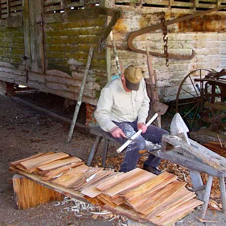 Making Cedar Shingles
